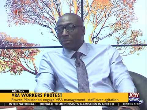 VRA Workers Protest - AM Talk on Joy News (4-8-16)