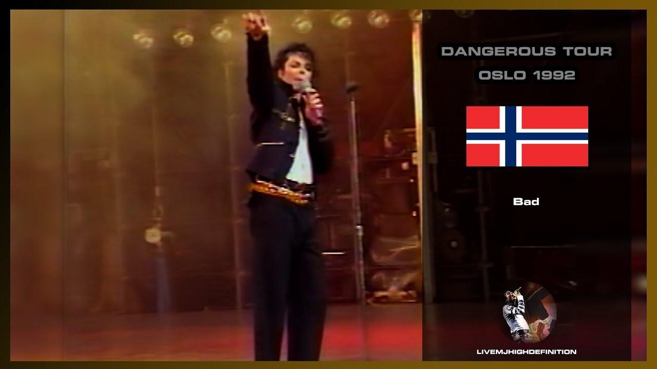Michael Jackson - Bad - Live Oslo 1992 - HD