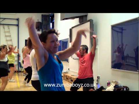 Bailando por Ahi - Crossfire remix - www.zumbaboyz.co.uk
