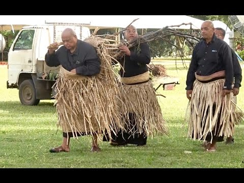 Ha'amo - Hon. Lord Vaea - Royal Mourning - Her Late Majesty Queen Mother Halaevalu Mata'aho