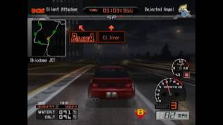 Tokyo Xtreme Racer 3/Shutokou Battle 01 gameplay: Dejected Angel (again), Nissan Silvia S14