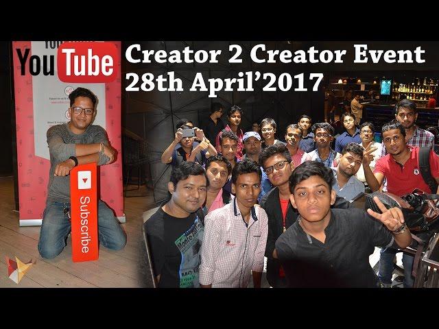 YouTube Creators Event   Creator Roundtable   Kolkata On 28th April2017   Data Dock