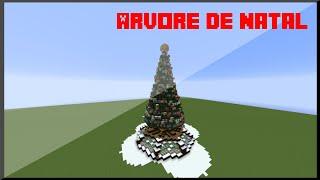 Árvore de Natal No Minecraft !! - Tutorial #7
