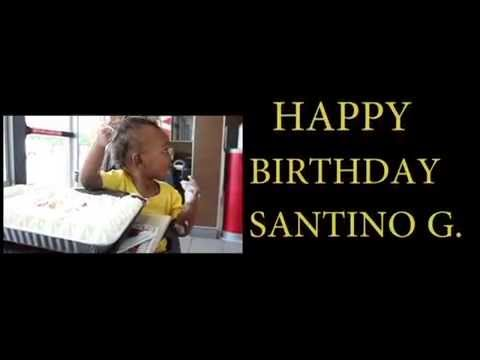 Happy Birthday To Santino