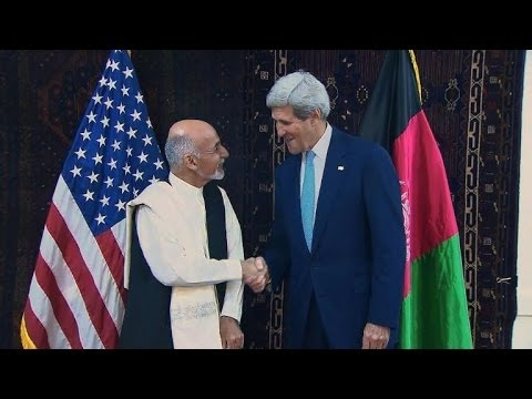 Kerry in Kabul hopes for end to Afghan election crisis