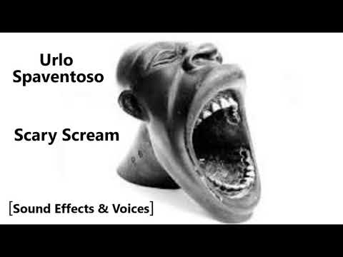 Urlo Spaventoso 😱 Scary Scream 😱 [Sound Effects & Voices] 😱