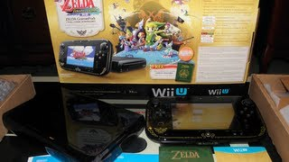 Wind Waker Wii U Deluxe Console Set Unboxing