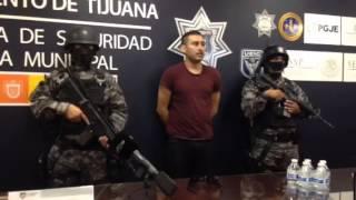 """""""El Cuate"""" detenido por homicidio en Tijuana"""