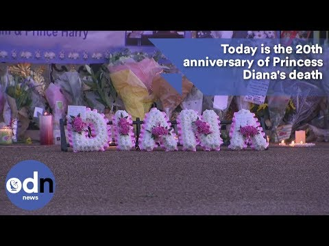 Today is the 20th anniversary of Princess Diana's death