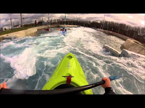 Lee Valley WhiteWater Olympic Loop Kayak GoPro