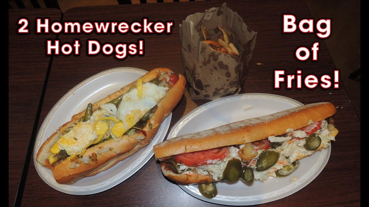 Homewrecker Hot Dog