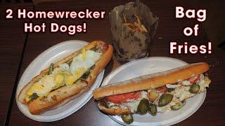 Homewrecker Hot Dog Challenge at The Cool Dog Cafe | Randy Santel
