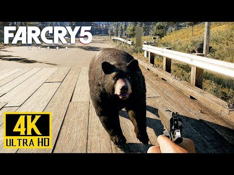 FAR CRY 5 - Open World Gameplay #1 (PS4 Pro) 4K @ 2160p ✔