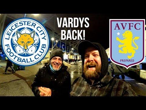 Leicester City 4-0 Aston Villa I the JAMIE VARDY PARTY!