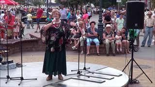 БЕЛАЯ, БЕЛАЯ РУСЬ!!! бабушка красиво спела! Brest! Street! Music!