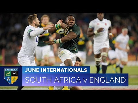 2018 June Test Series:  Third Test – South Africa v England