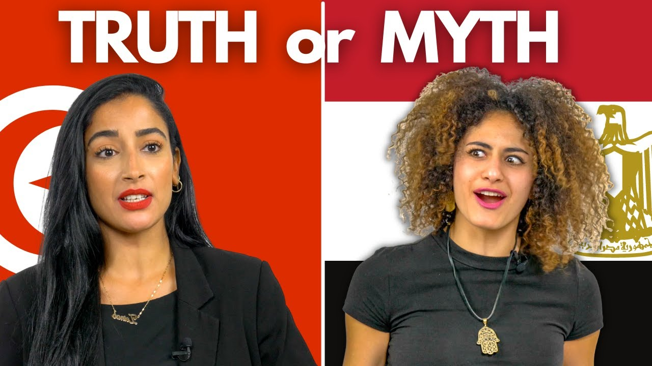 TRUTH or MYTH: North Africans React to Stereotypes (Morocco, Algeria, Tunisia etc)