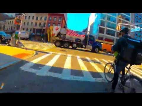 Manhattan Cargo Bike time lapse