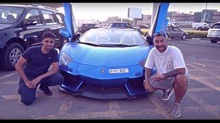LAMBORGHINI RACING WITH MO VLOGS IN DUBAI!!