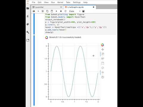 Coding Relic: Line graphs in JupyterLab