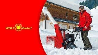 WOLF-Garten FORCE3 Schneefräse Deutsch