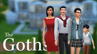 Sims 4  |  The Goth Family |  Episode 1  |  Intro!