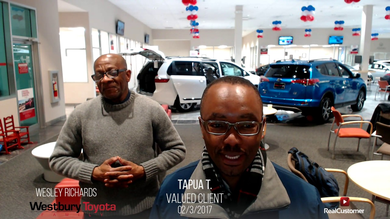 Tapua Reviews Westbury Toyota And Wesley Richards