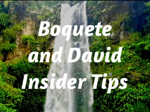 🌴Boquete and David Travel Guide | Panama Vacation☀️