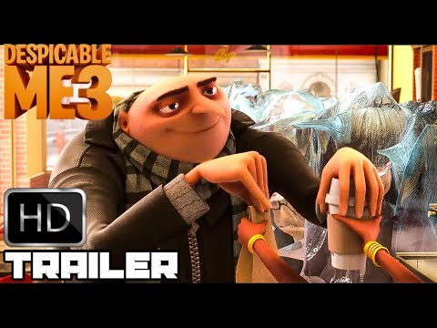 Despicable Me 1 2 & 3 'Gru's Funniest Moments' (2017) Hilarious Animated Movie HD