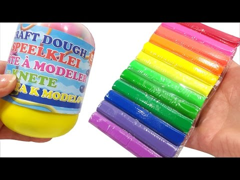 Play Doh Craft Dough Surprise Egg Molds For Children The Finger Family Song Nursery Rhymes