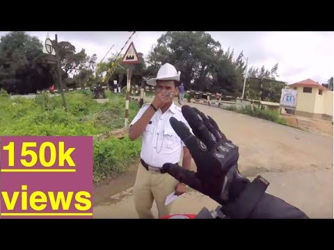 Bangalore reactions 13: Why did that COP stop me ? independence day ride