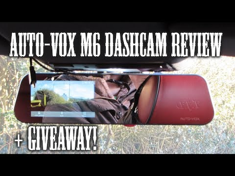 Auto-Vox M6 Mirror Dash Cam Review + Giveaway