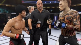 Bruce Lee vs. Woodman (EA Sports UFC 2) - CPU vs. CPU
