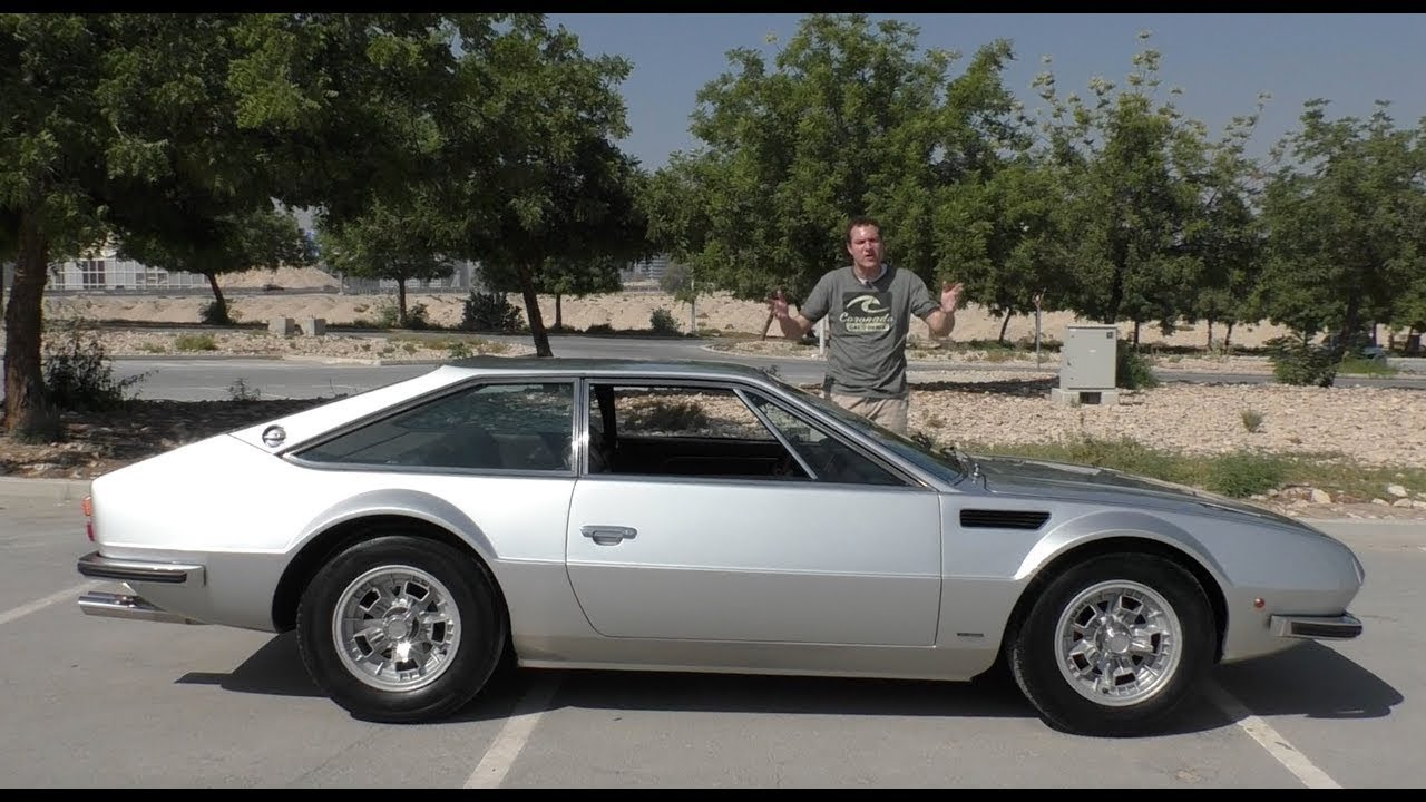 The Lamborghini Jarama Is Ugly, Rare, and Totally Unknown