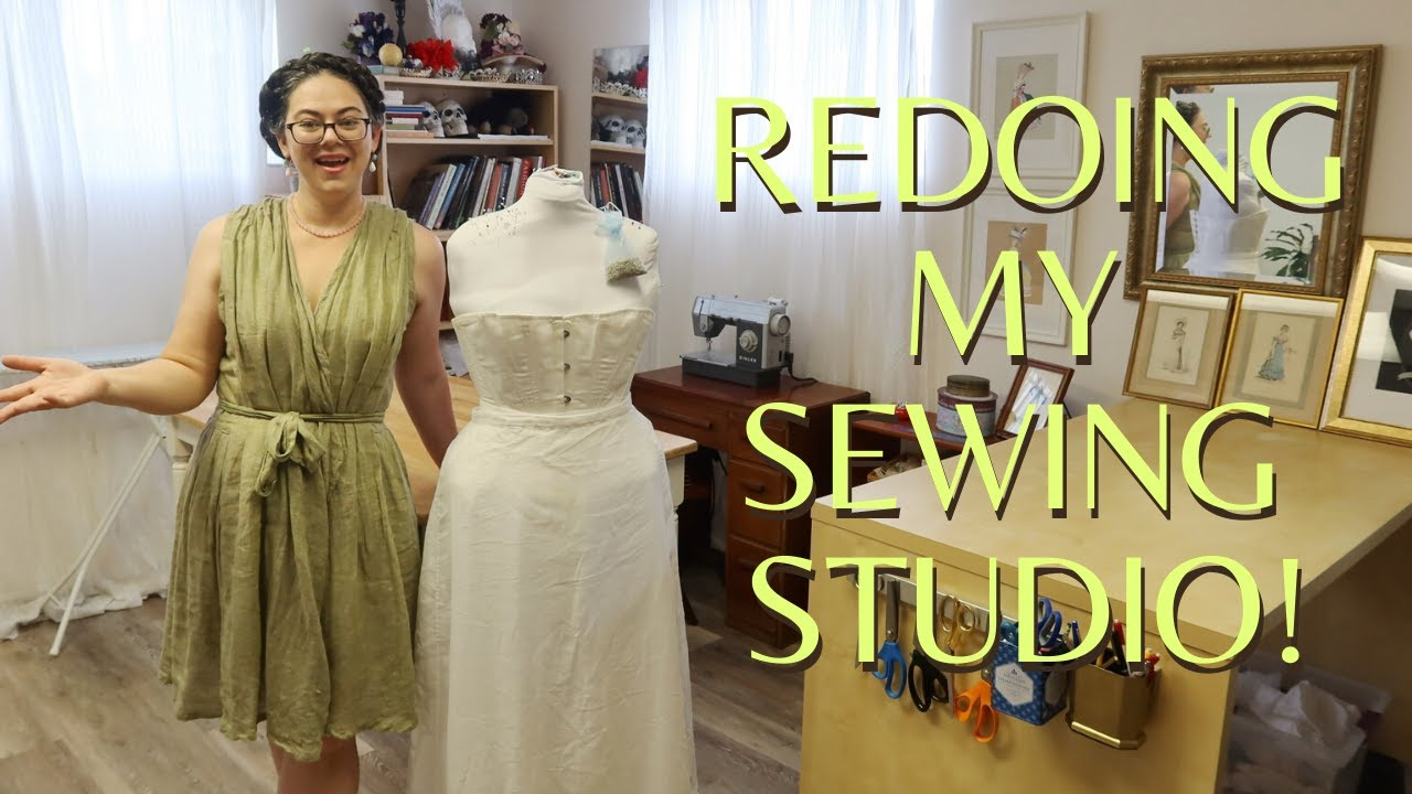 I renovated my Sewing Studio - and a Sewing Studio Tour!