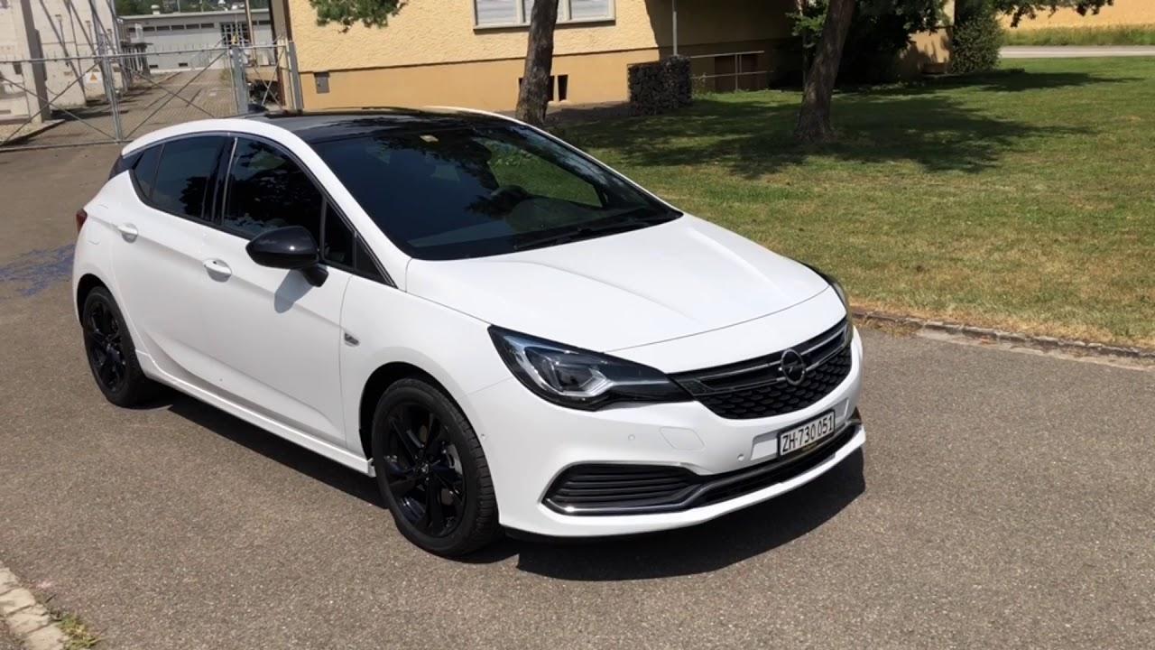 Opel Astra Black Edition - YouTube