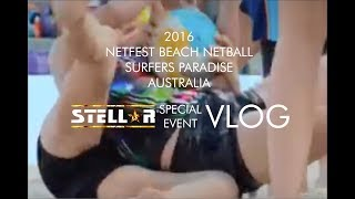 Netfest Beach Netball 2016 Surfers Paradise Australia