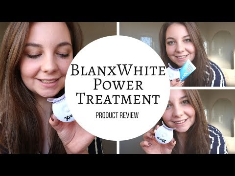 BLANX WHITE SHOCK POWER WHITE TREATMENT REVIEW | PRODUCT REVIEW
