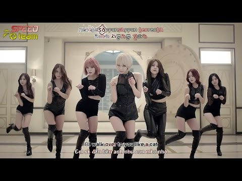[Vietsub + Engsub + Kara] AOA (Ace Of Angels) - Like A Cat