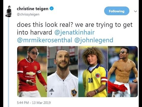 Chrissy Teigen pokes fun at college admissions scandal with her own photos - US News Mp3