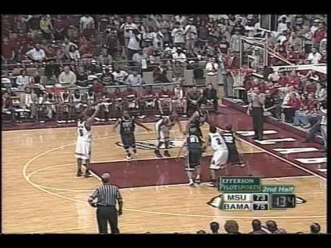 2004 Mississippi State @ Alabama basketball