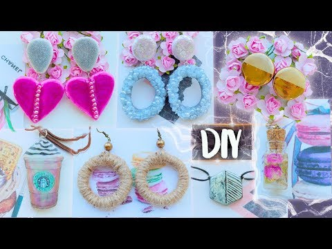 7 DIY Jewelry for Everyday ● EASY ● Epoxy Resin ● Polymer Clay