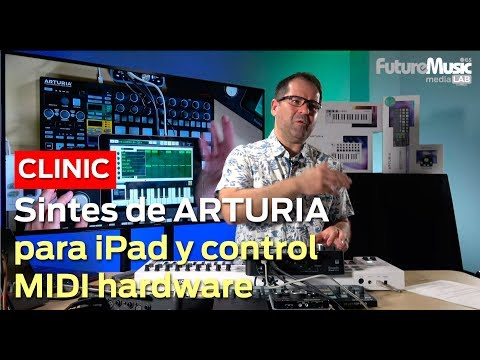 Arturia Apps iPad & Control Hardware en FutureMusic media[LAB] MADRID