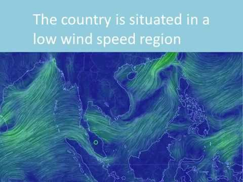 Wind energy in Malaysia: Past, present and future