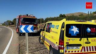 Accidente de tráfico con un fallecido en la M-318