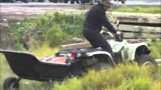 Краш тест прицепа для квадроцикла ATVStar.(Компания ATVARMOR провела краш-тест прицепа для квадроцикла производства ATVSTAR. В результате нешуточных испытан..., 2011-11-01T06:24:25.000Z)