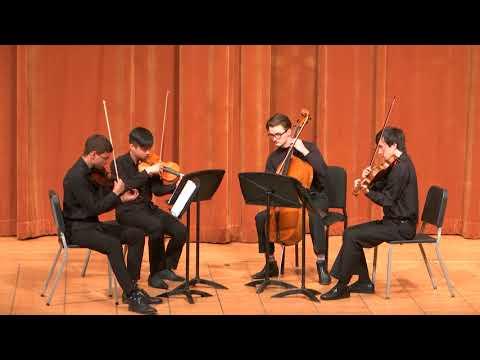 Jiří Trtík: String Quartet No.1 performed by Vltava Quartet