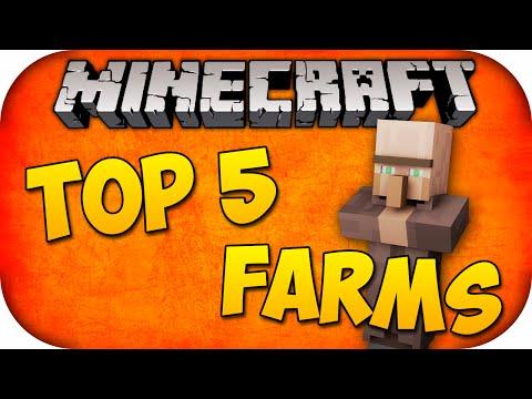 TOP 5 FARMS PARA FAZER EM MINECRAFT