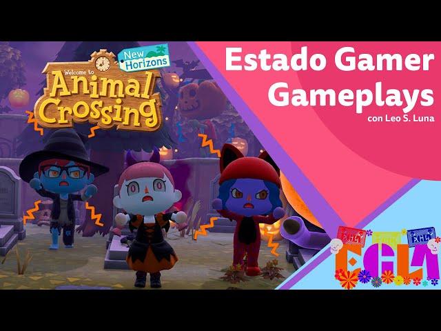 Remodelando mi isla de Animal Crossing a lo Halloween - Estado Gamer Gameplays