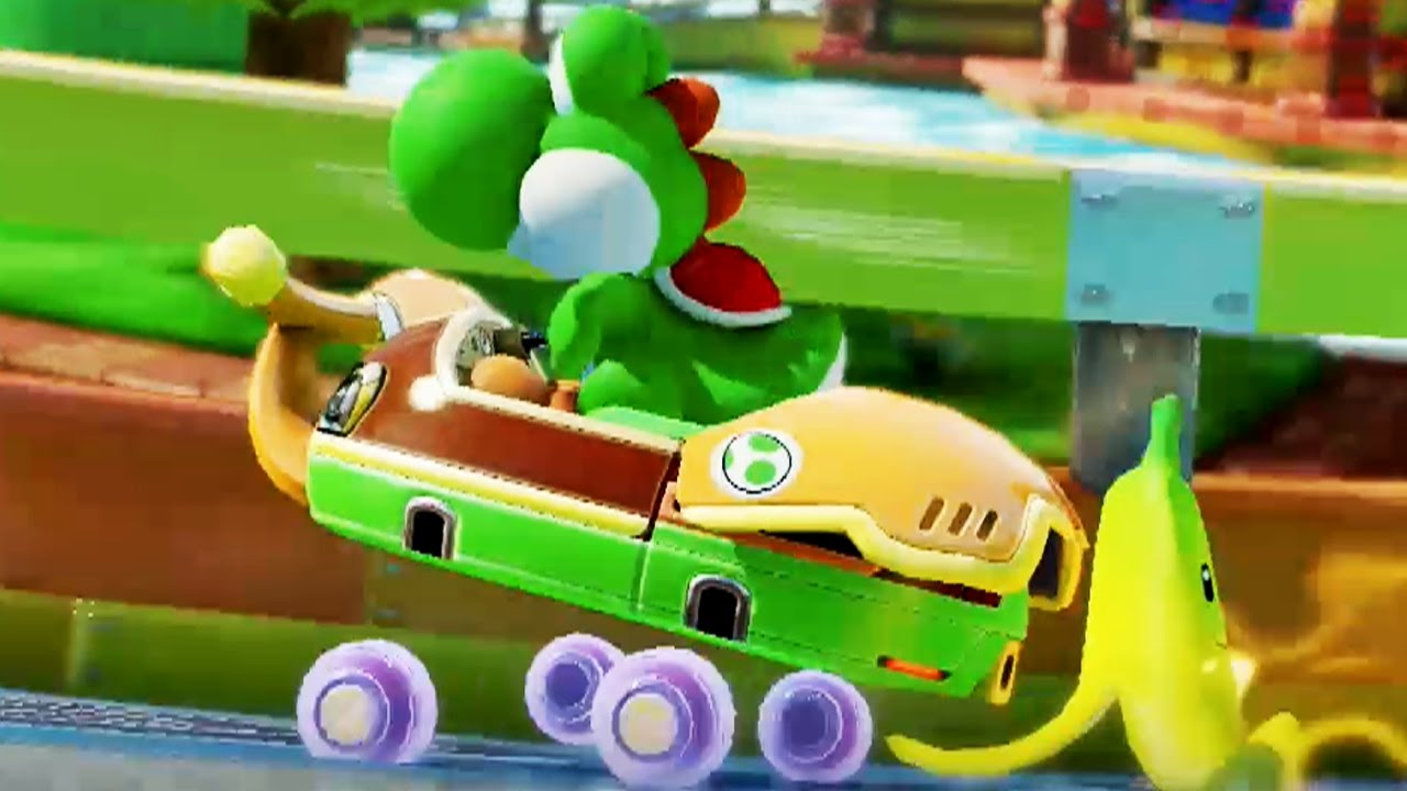 mario kart 8 deluxe 200cc mushroom cup grand prix yoshi gameplay youtube. Black Bedroom Furniture Sets. Home Design Ideas